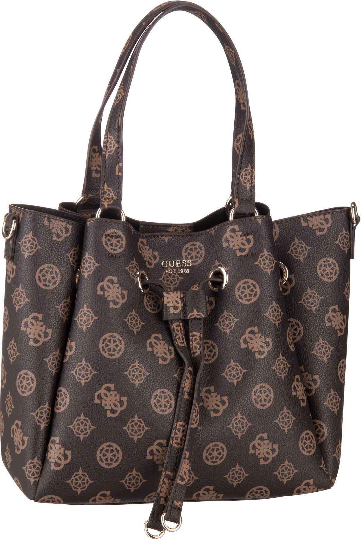 Handtasche Digital Drawstring Bag SP Brown