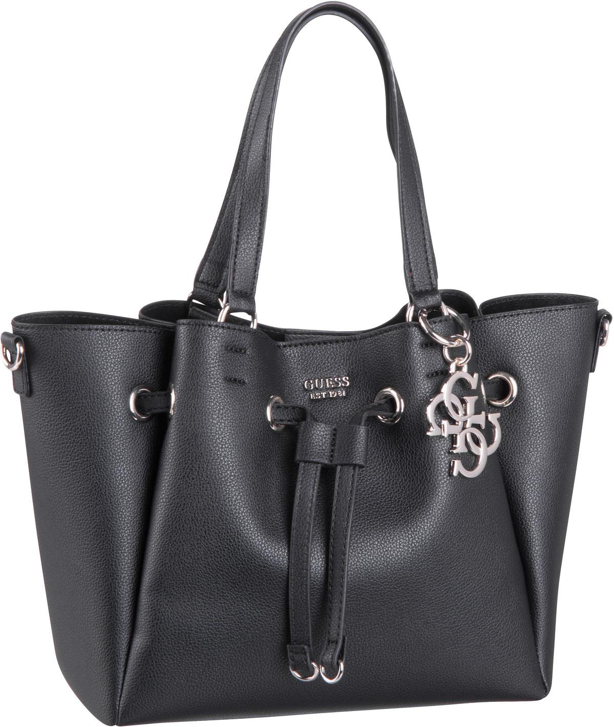 Handtasche Digital Drawstring Bag Black