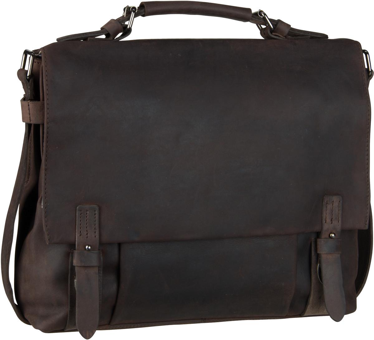 Businesstaschen für Frauen - Harold's Aktentasche Leado 2441 Mappe Braun  - Onlineshop Taschenkaufhaus