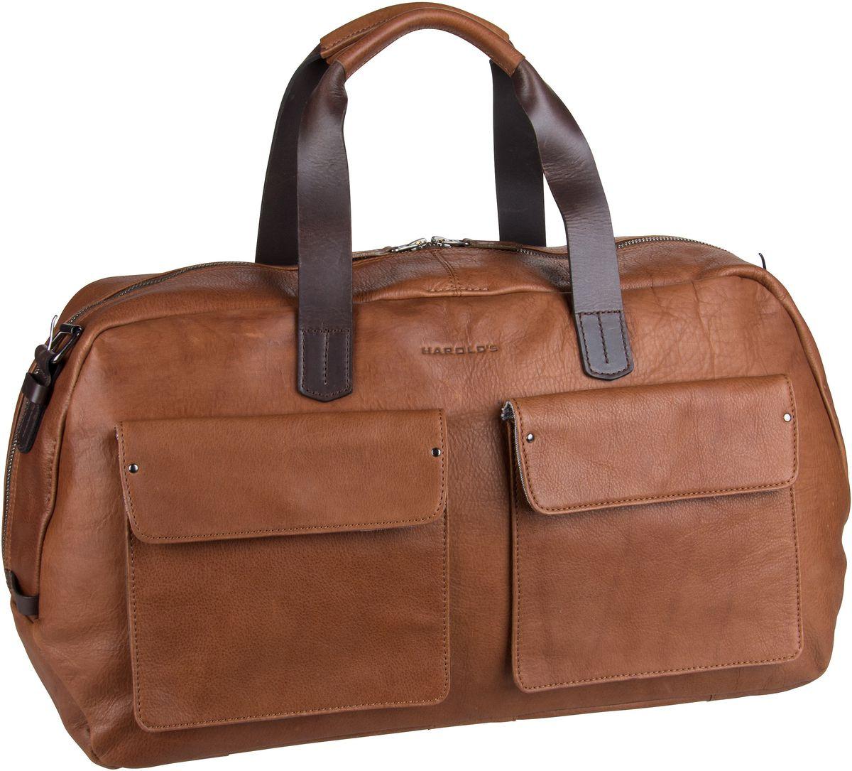 Harold´s Weekender Ivy Lane 2819 Travelbag L Cognac