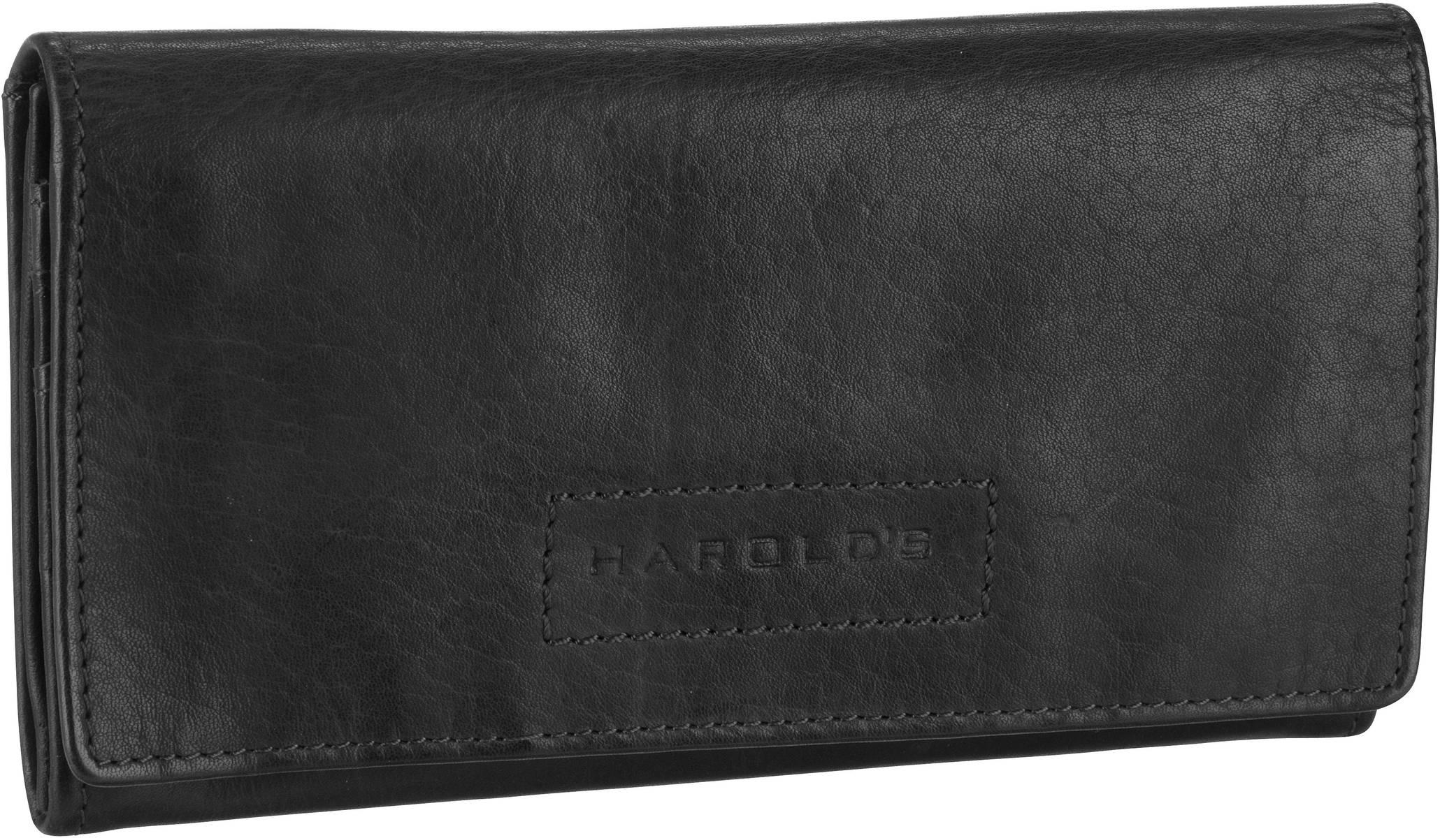 Geldboersen für Frauen - Harold's Kellnerbörse Submarine 2722 Schwarz  - Onlineshop Taschenkaufhaus