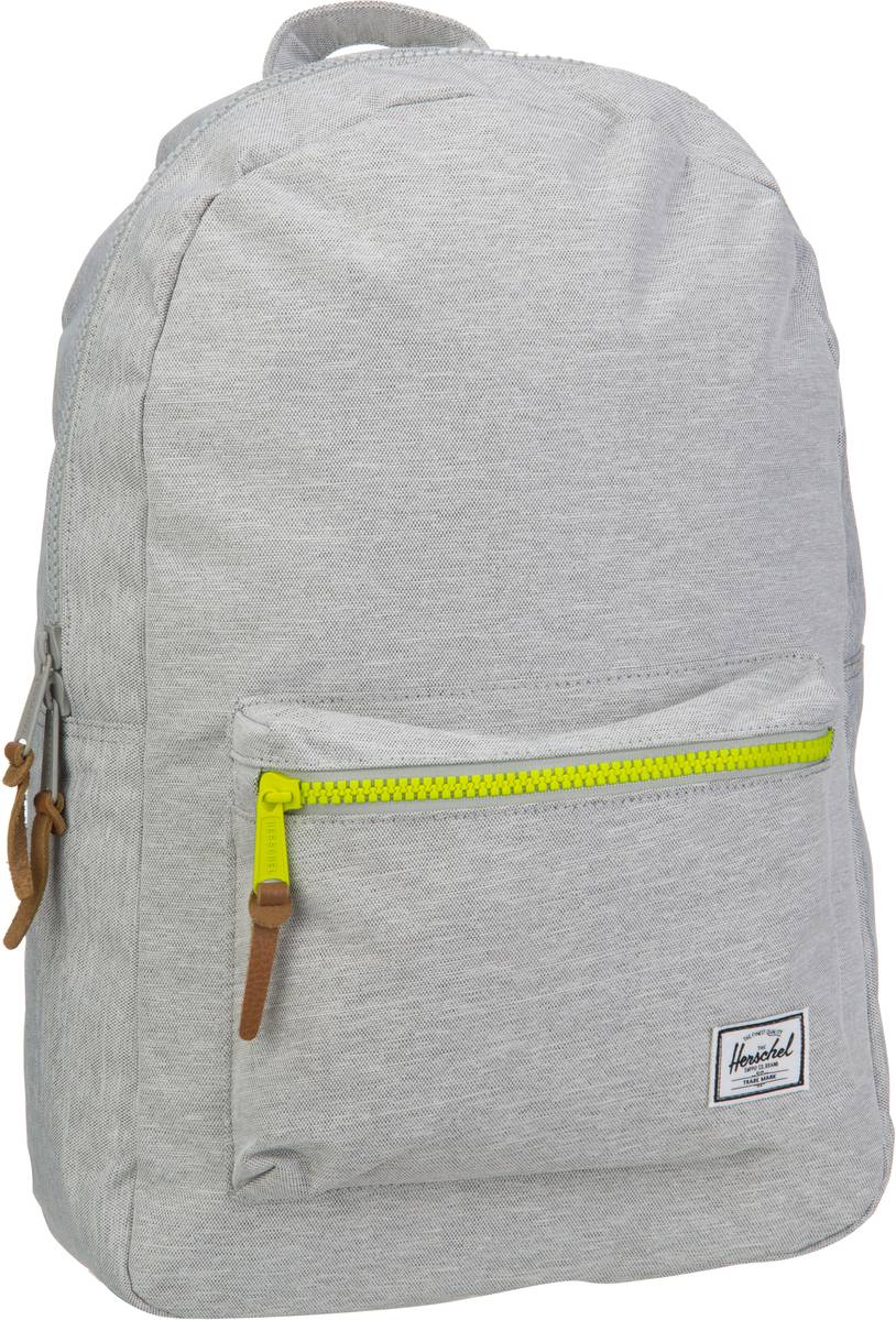 Herschel Settlement Light Grey Crosshatch - Rucksack / Daypack