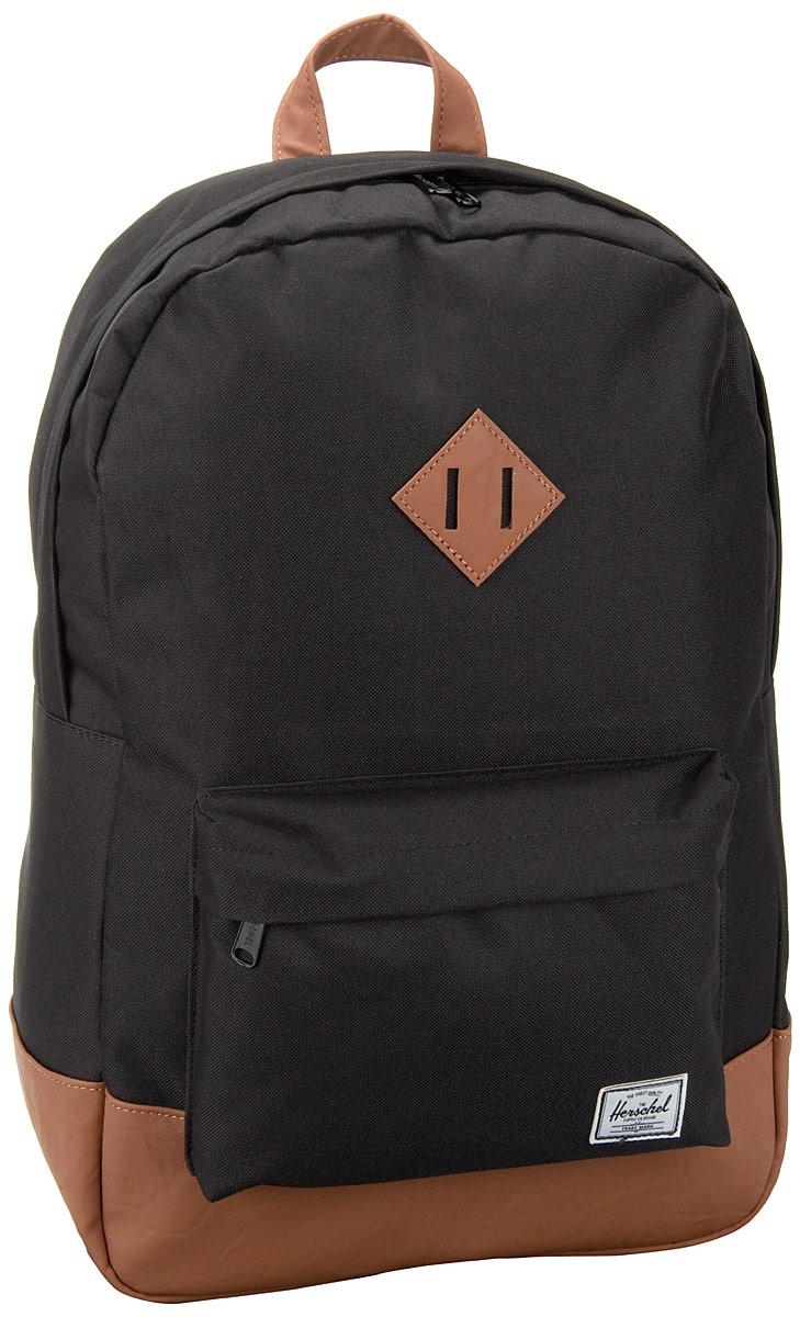 Rucksack / Daypack Heritage Black (21 Liter)
