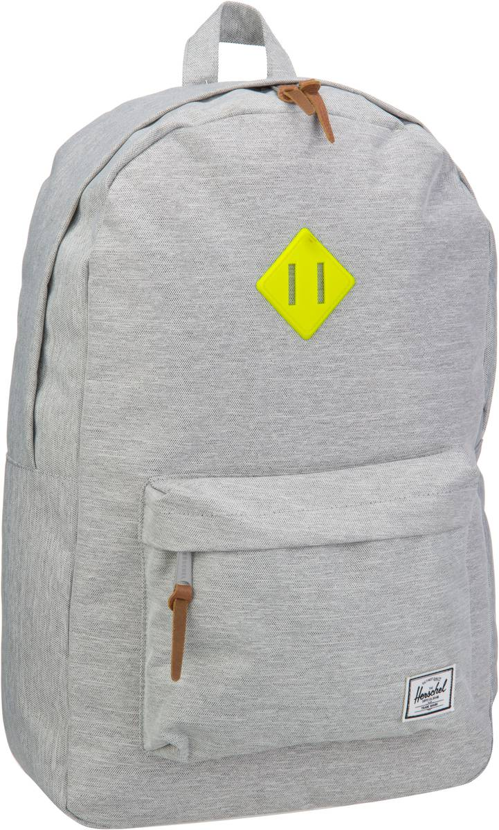 Rucksack / Daypack Heritage Light Grey Crosshatch (21 Liter)