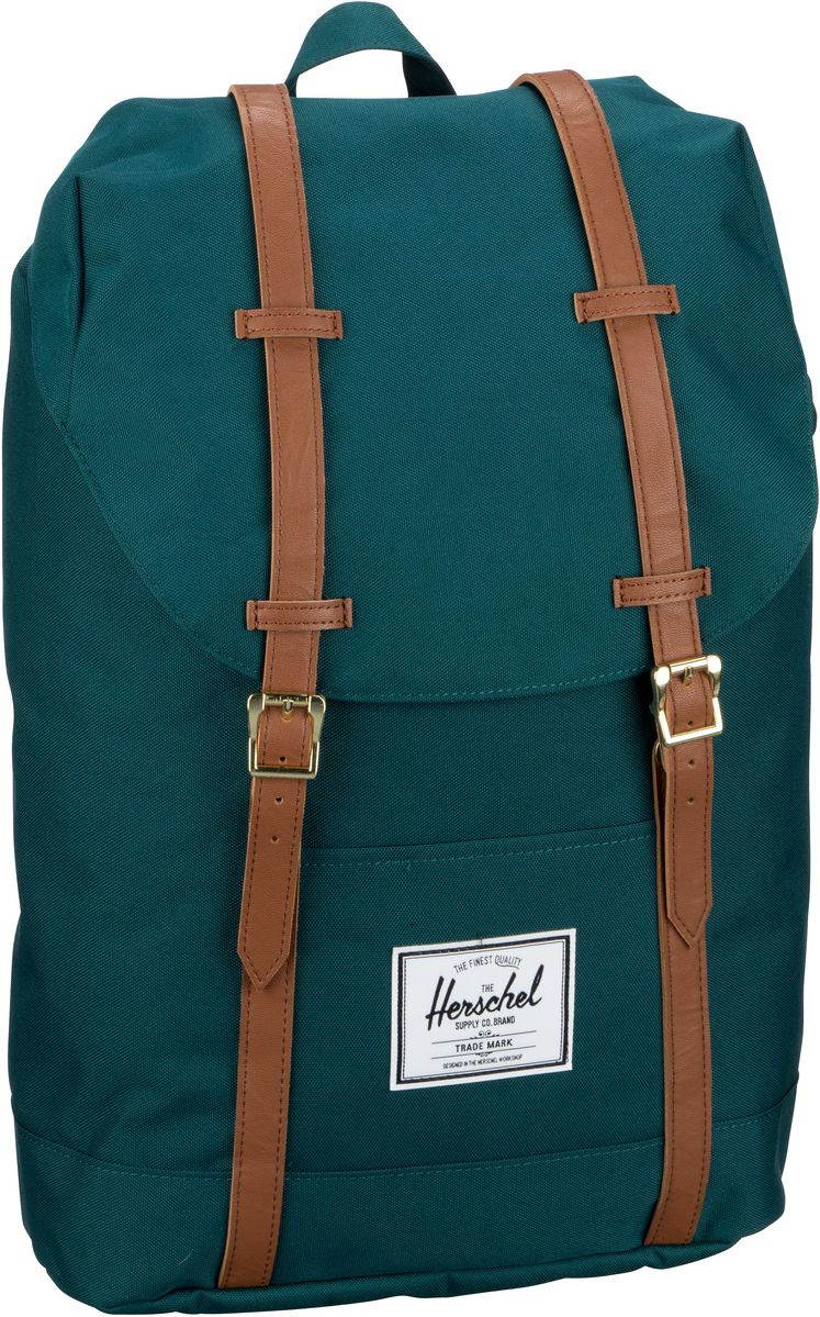 Herschel Laptoprucksack Retreat Deep Teal/Tan (19.5 Liter)