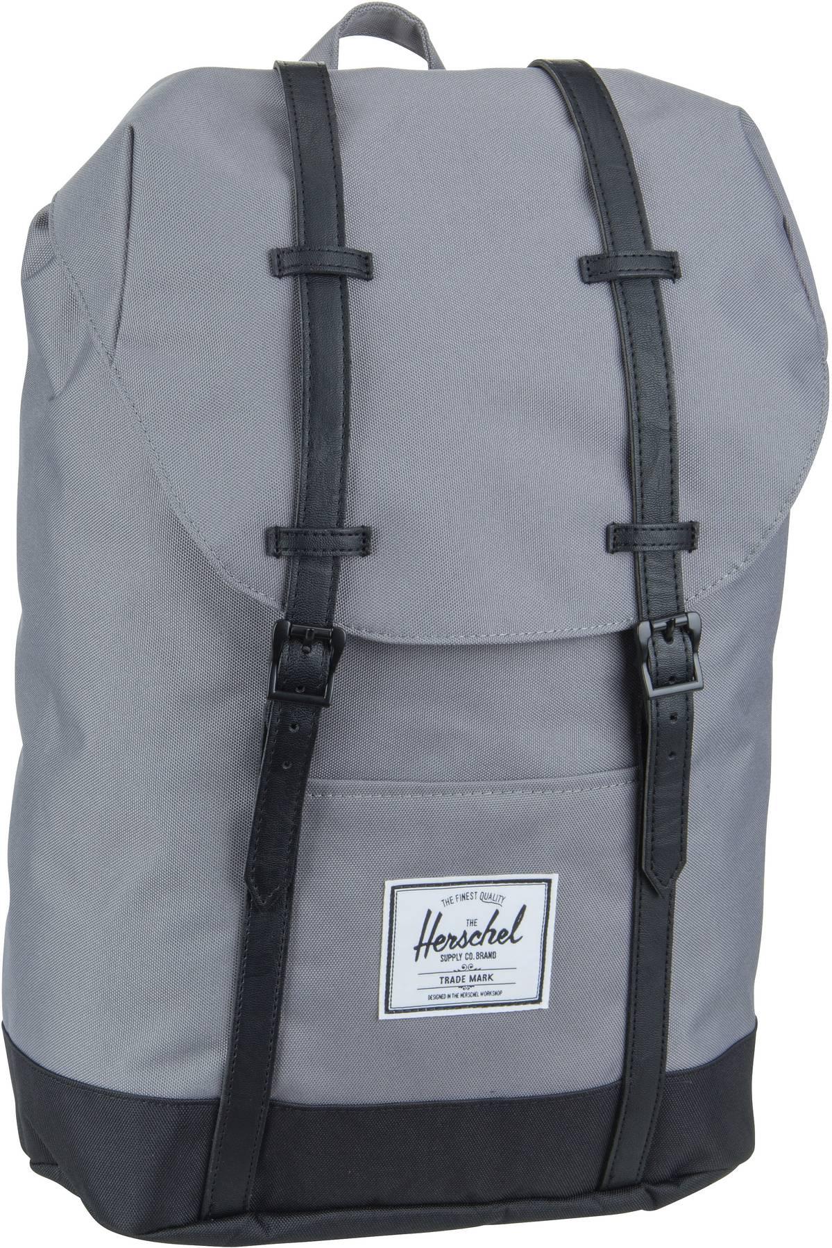 Laptoprucksack Retreat Grey/Black (19.5 Liter)