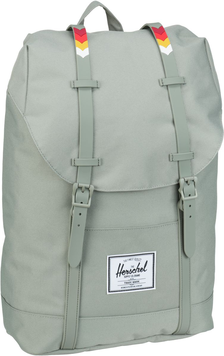 Herschel Laptoprucksack Retreat Shadow/Chevron Rubber (19.5 Liter)