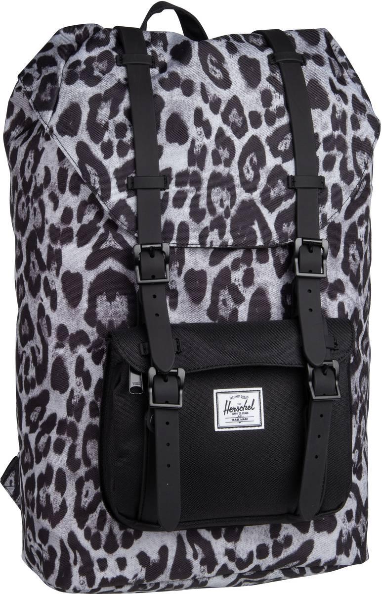 Laptoprucksack Little America Mid Volume Snow Leopard/Black (16.5 Liter)