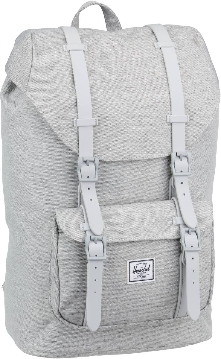 Laptoprucksack Little America Mid Volume Light Grey Crosshatch/Grey (16.5 Liter)