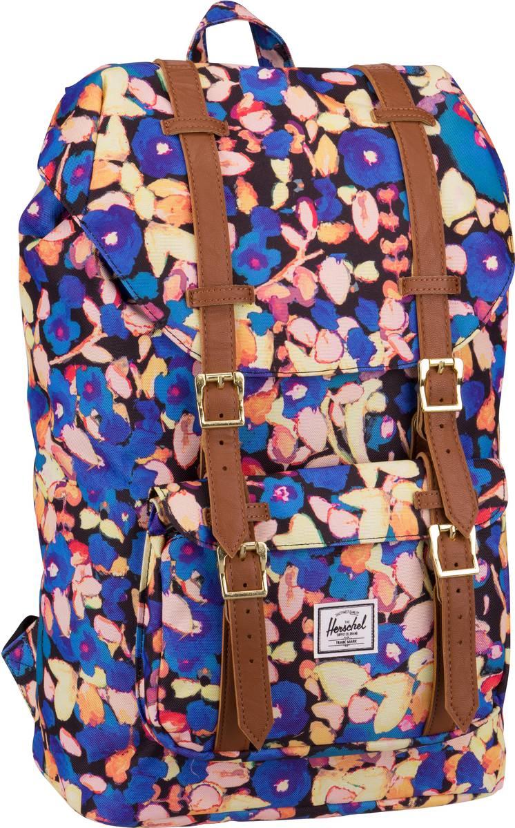 Laptoprucksack Little America Mid Volume Painted Floral/Tan (16.5 Liter)