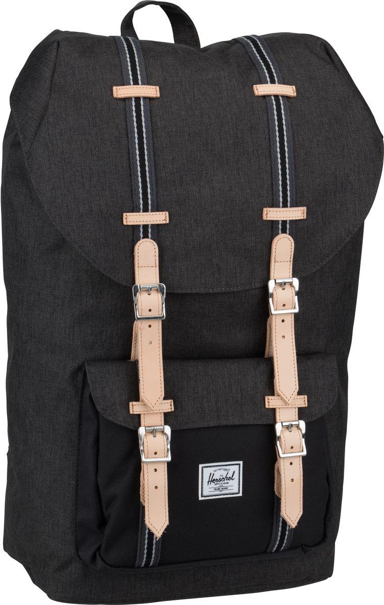 Rucksack / Daypack Little America Offset Black Crosshatch/Black (25 Liter)
