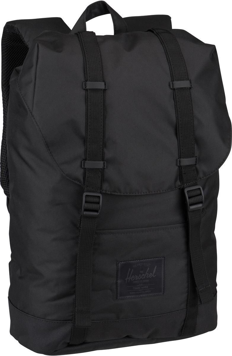 Rucksack / Daypack Retreat Light Black (19.5 Liter)