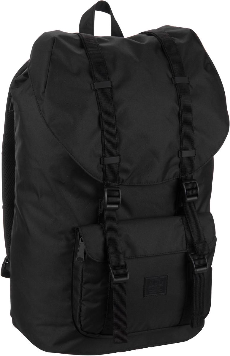 Rucksack / Daypack Little America Light Black (25 Liter)