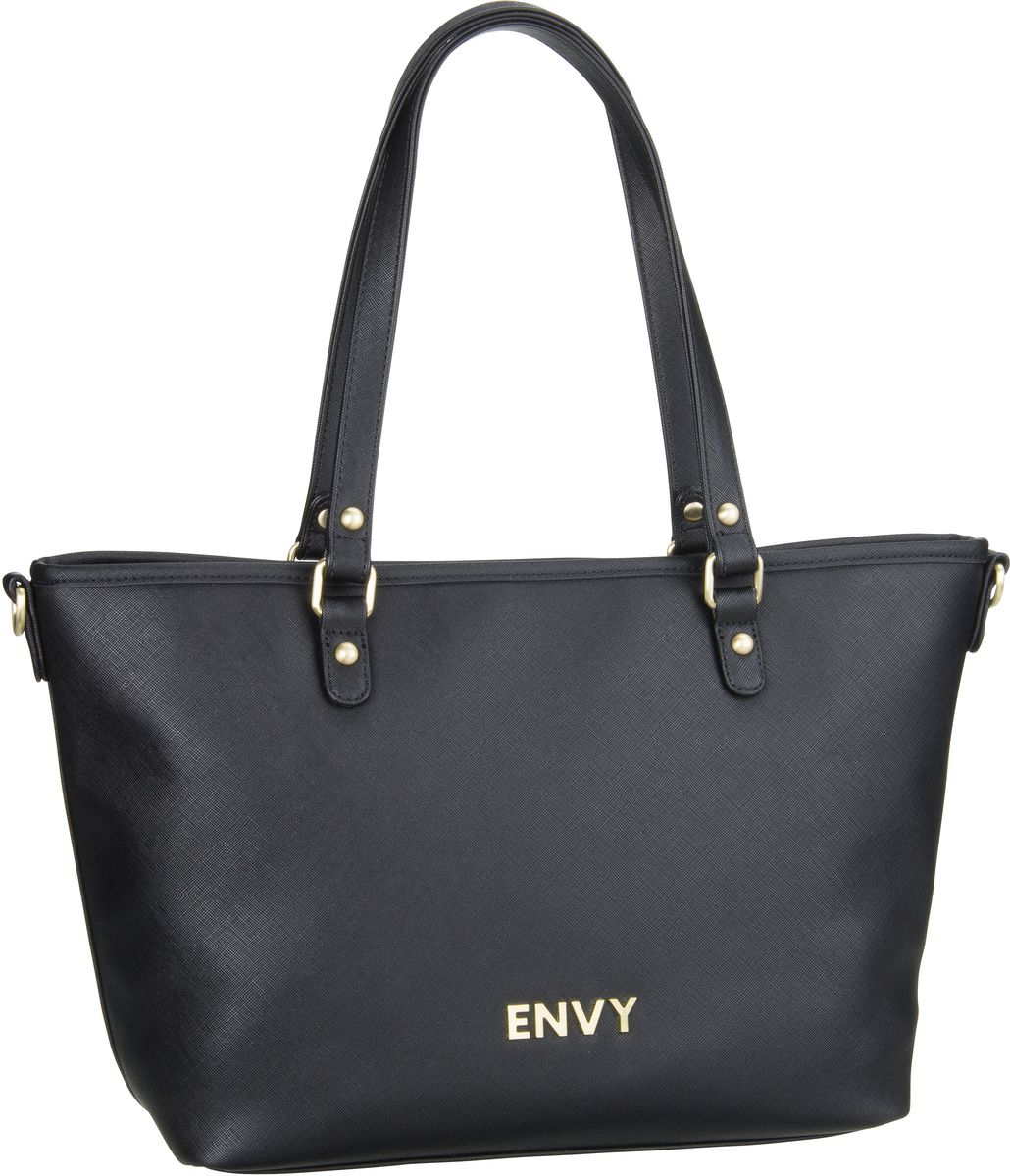 House of Envy Classy Shopper Black - Handtasche