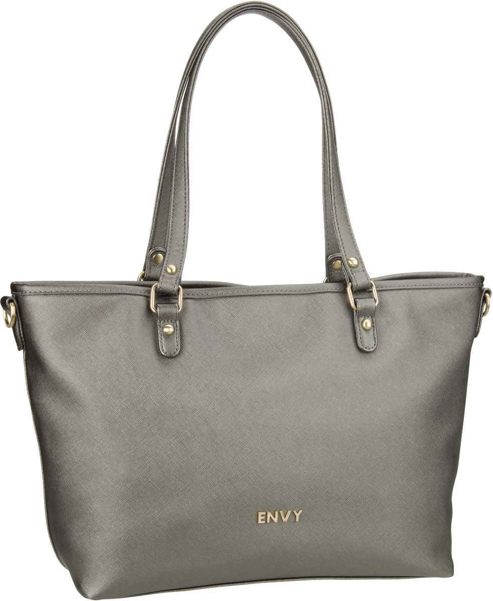House of Envy Classy Shopper Steel - Handtasche