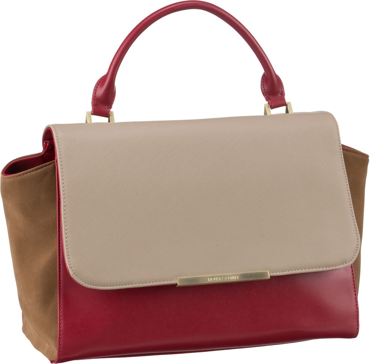 House of Envy Luxurious Beige Combi - Handtasche