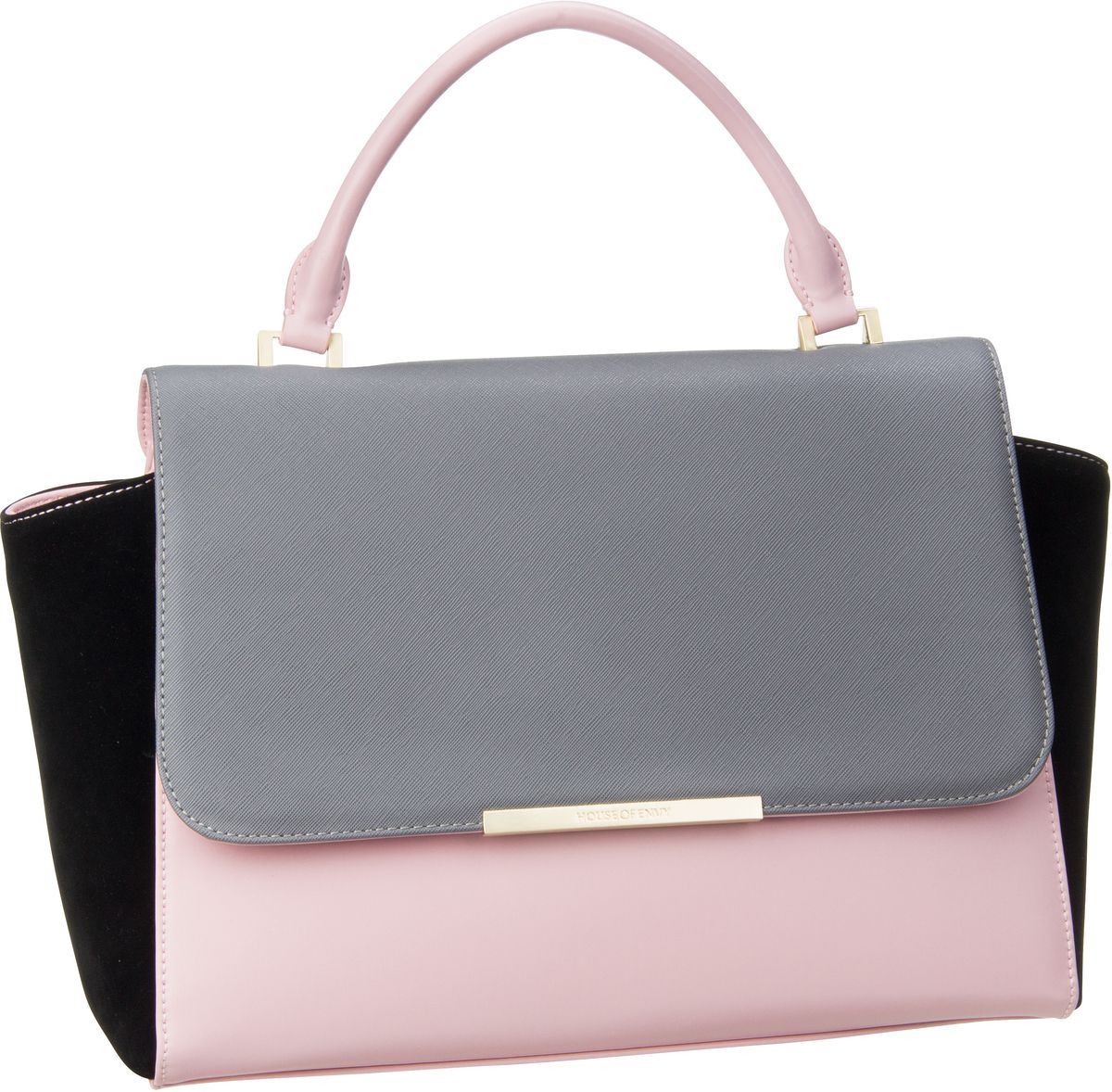 House of Envy Luxurious Grey Combi - Handtasche