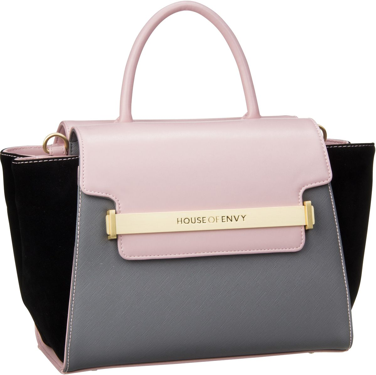 House of Envy Lovable Grey Combi - Handtasche