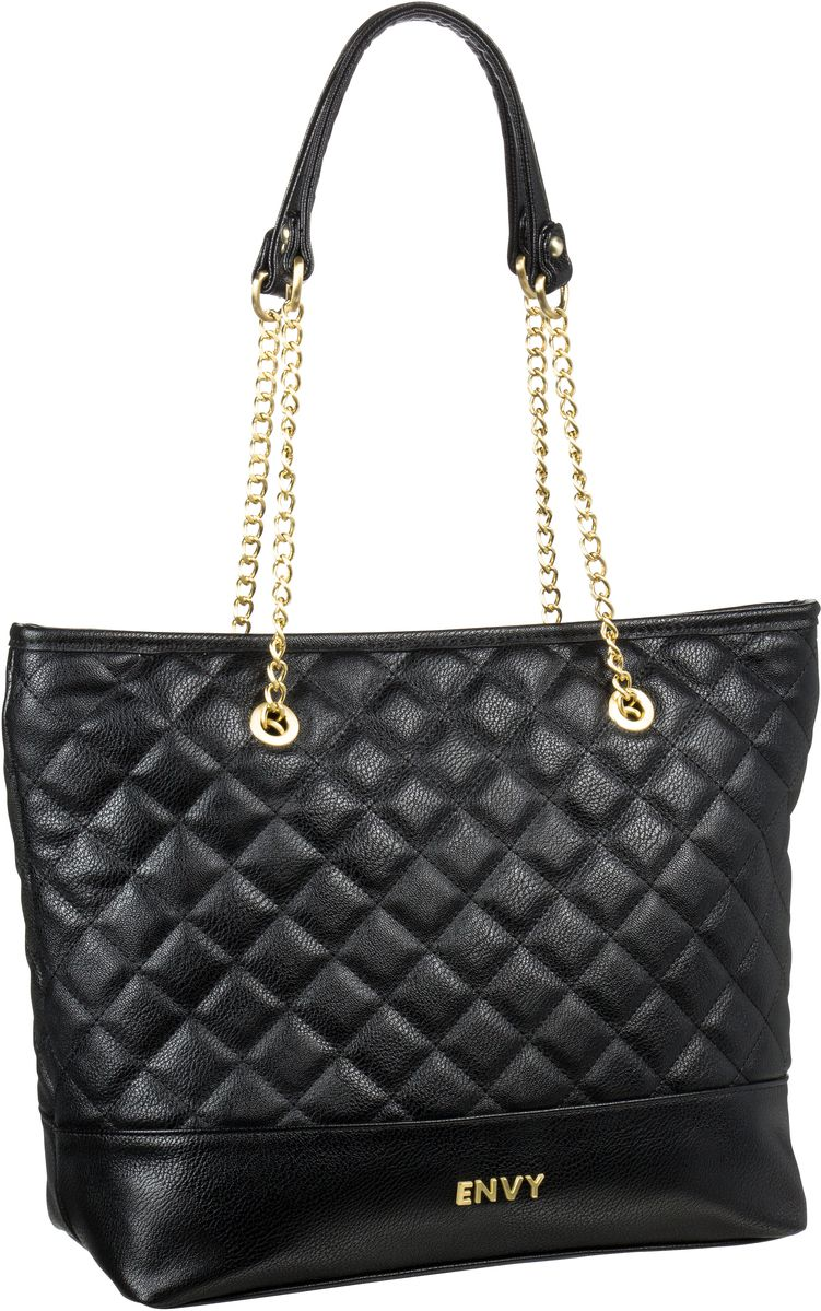 House of Envy Preppy Shopper Paris Black - Hand...
