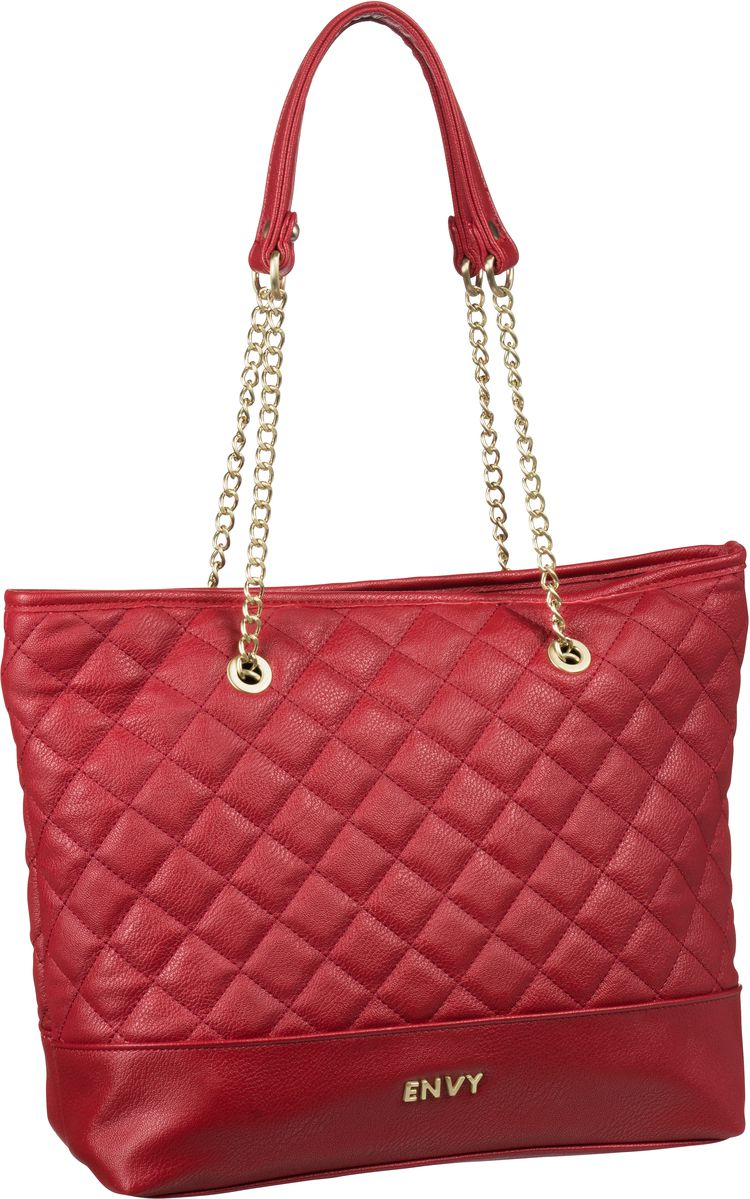 House of Envy Preppy Shopper Paris Red - Handta...