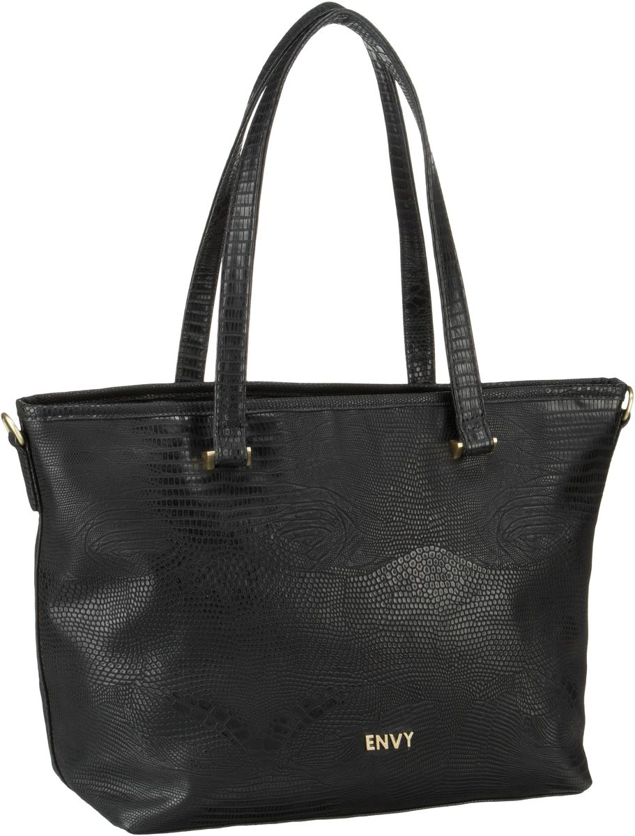 House of Envy Classy Shopper Snake Black - Shopper