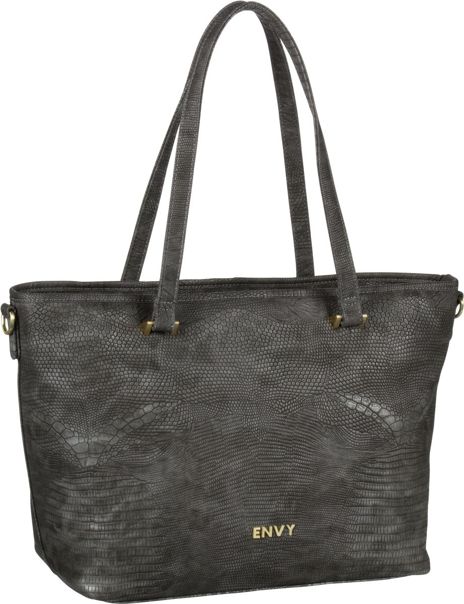 House of Envy Classy Shopper Snake Grey - Shopper