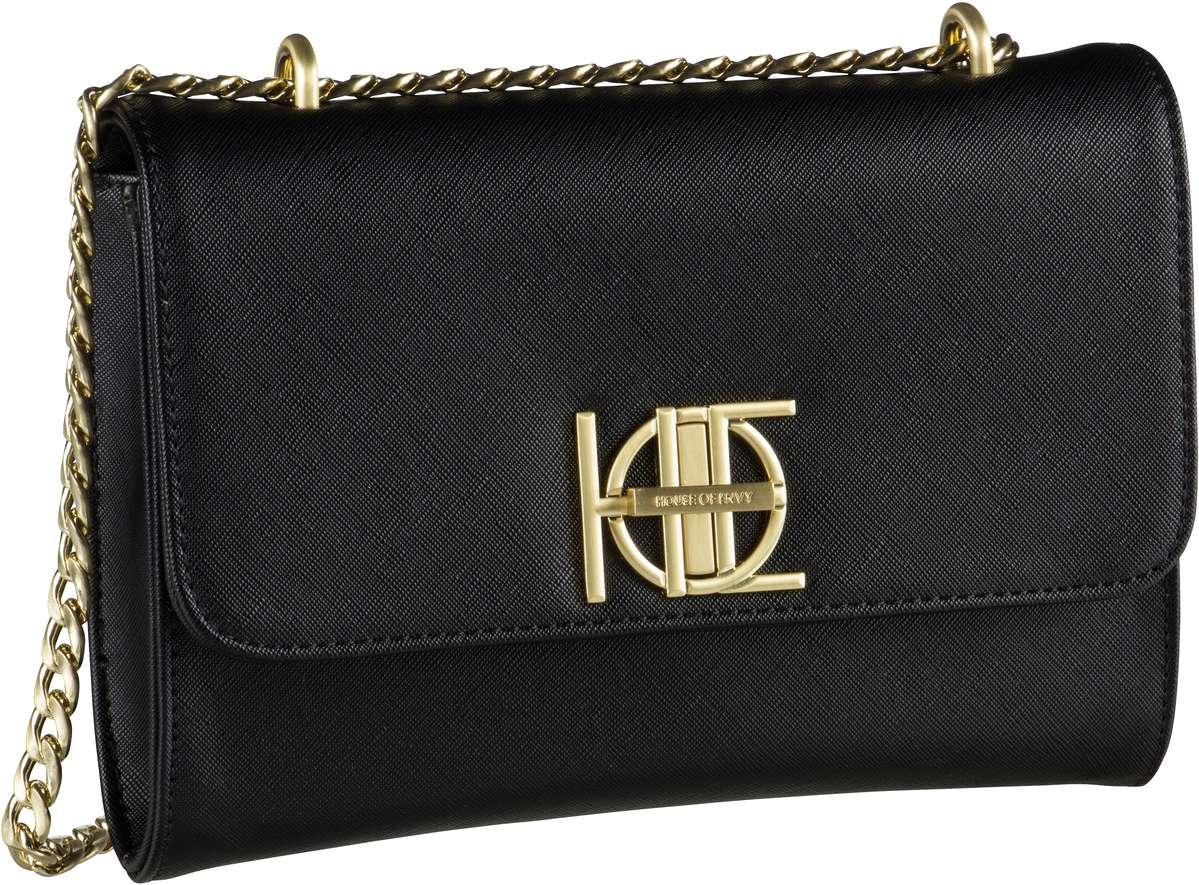 House of Envy Posh Bag Diamond Black - Handtasche