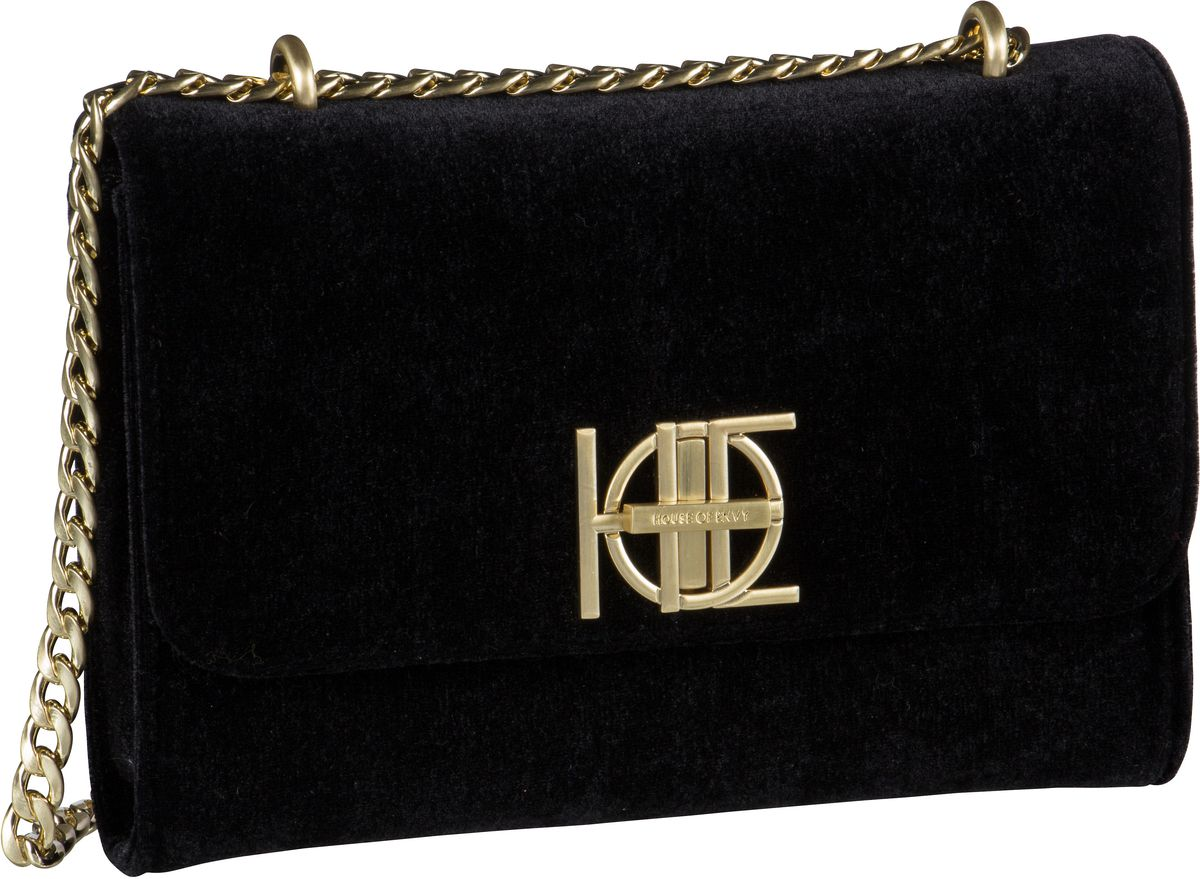 House of Envy Handtasche Posh Bag Velvet Black