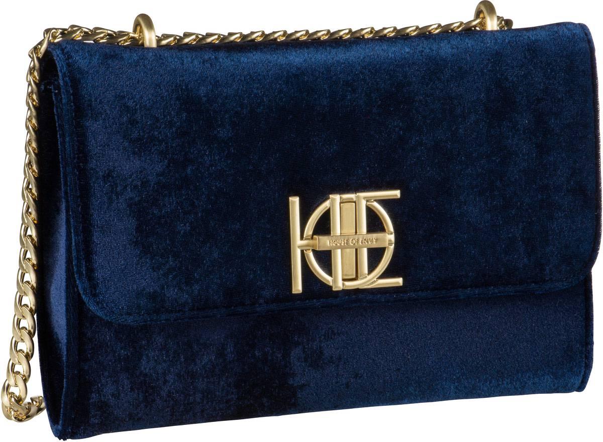 House of Envy Posh Bag Velvet Night - Handtasche