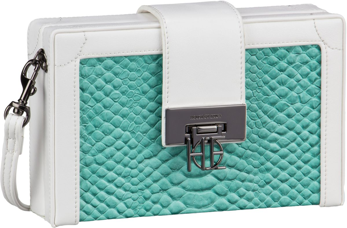 House of Envy Little Suitcase BigSnake Turquois...