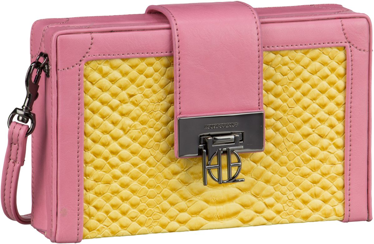 House of Envy Little Suitcase BigSnake Yellow -...