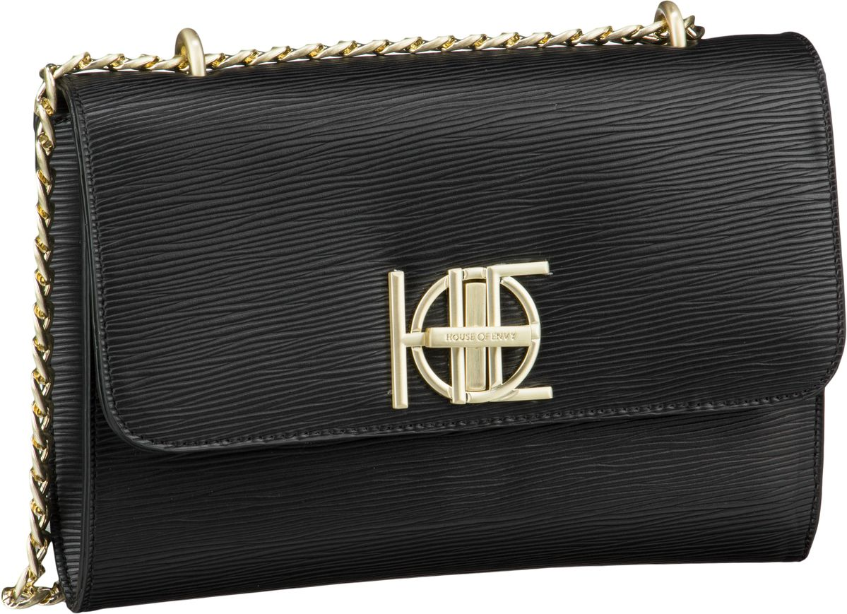 House of Envy Handtasche Posh Bag Riffle Black