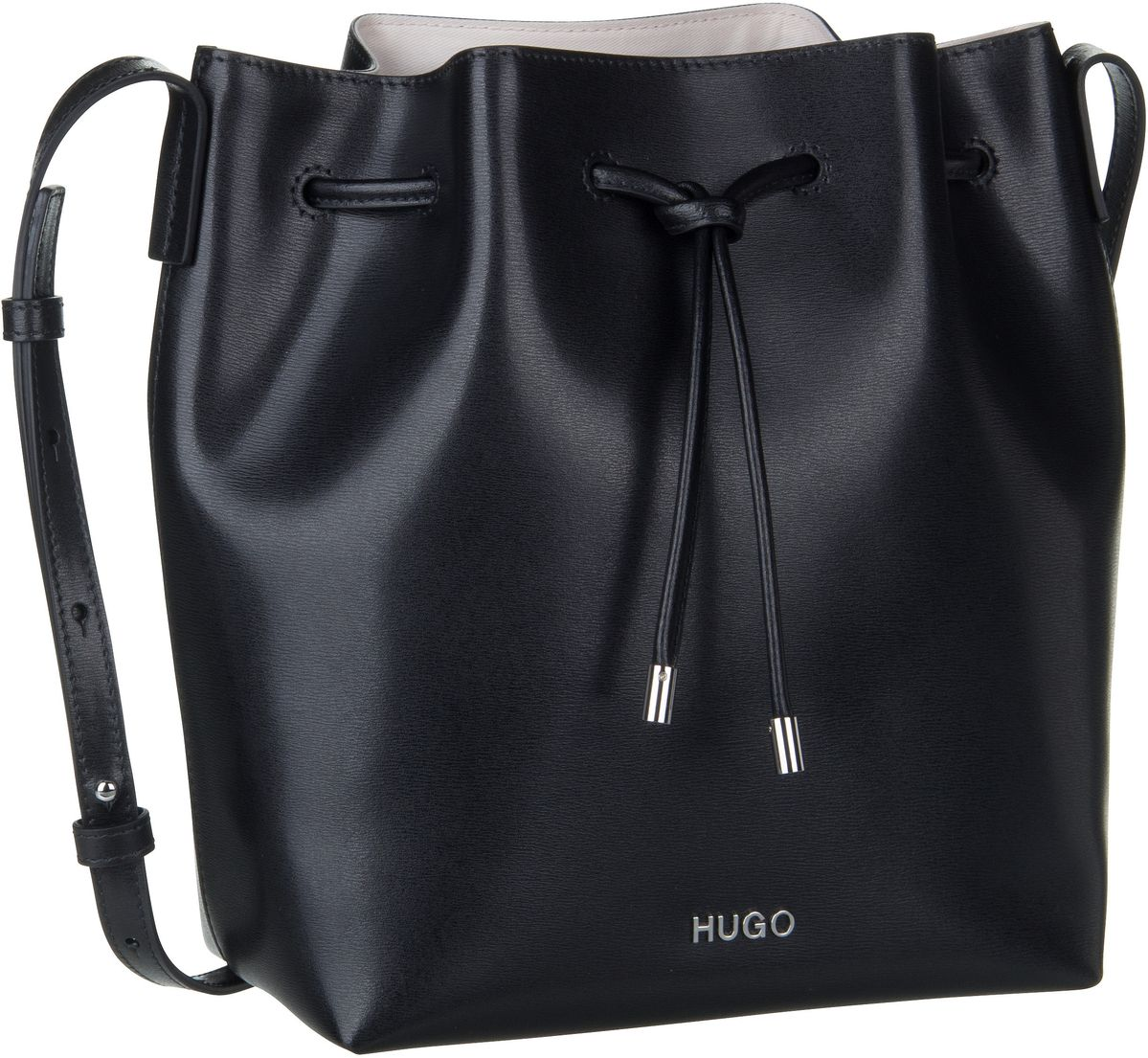 HUGO Handtasche Downtown Drawstring 407876 Black