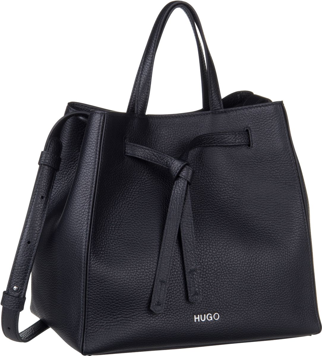 HUGO Handtasche Mayfair Drawstring 397974 Black