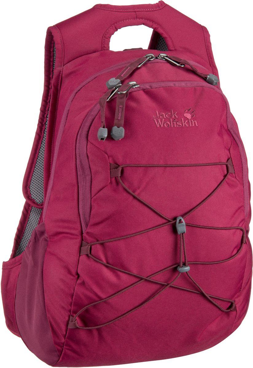 Rucksaecke für Frauen - Jack Wolfskin Rucksack Daypack Savona Dark Ruby (20 Liter)  - Onlineshop Taschenkaufhaus