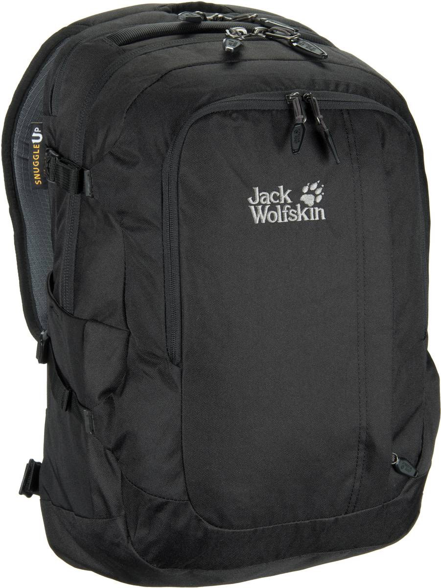 Laptoprucksack Jack.Pot De Luxe Black (32 Liter)