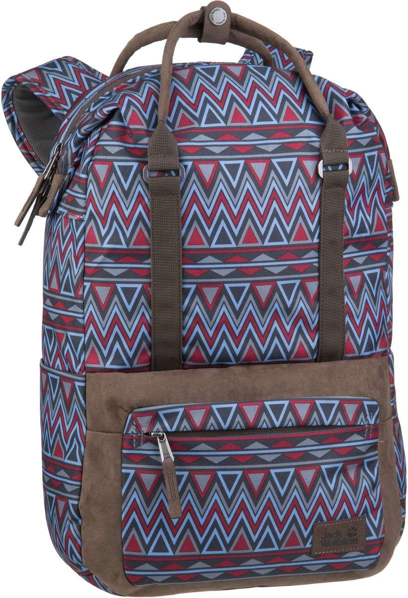 Jack Wolfskin Tuscon Pack Red Navajo - Rucksack / Daypack Sale Angebote Haidemühl