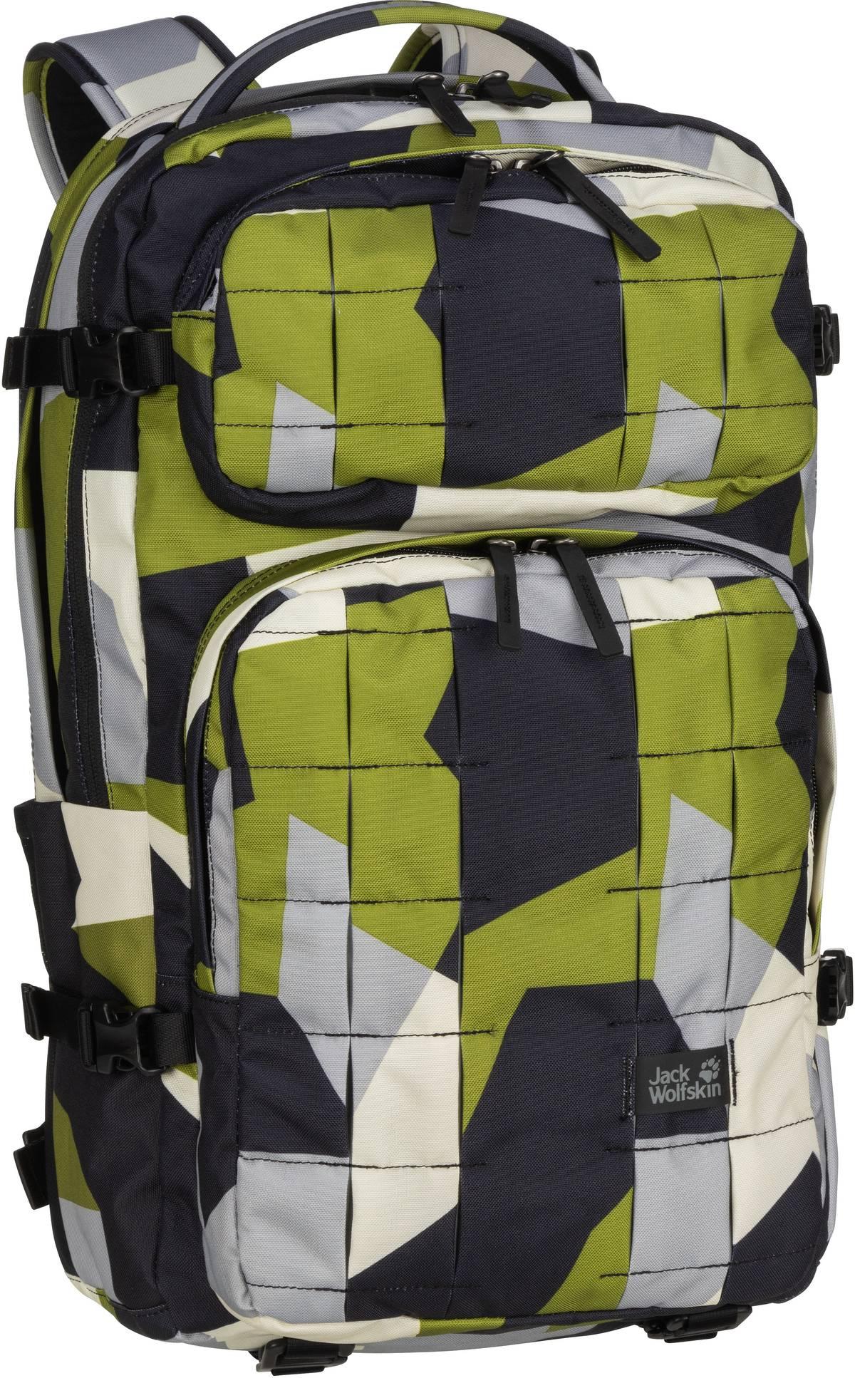 Laptoprucksack TRT 22 Pack Green Geo Block (22 Liter)