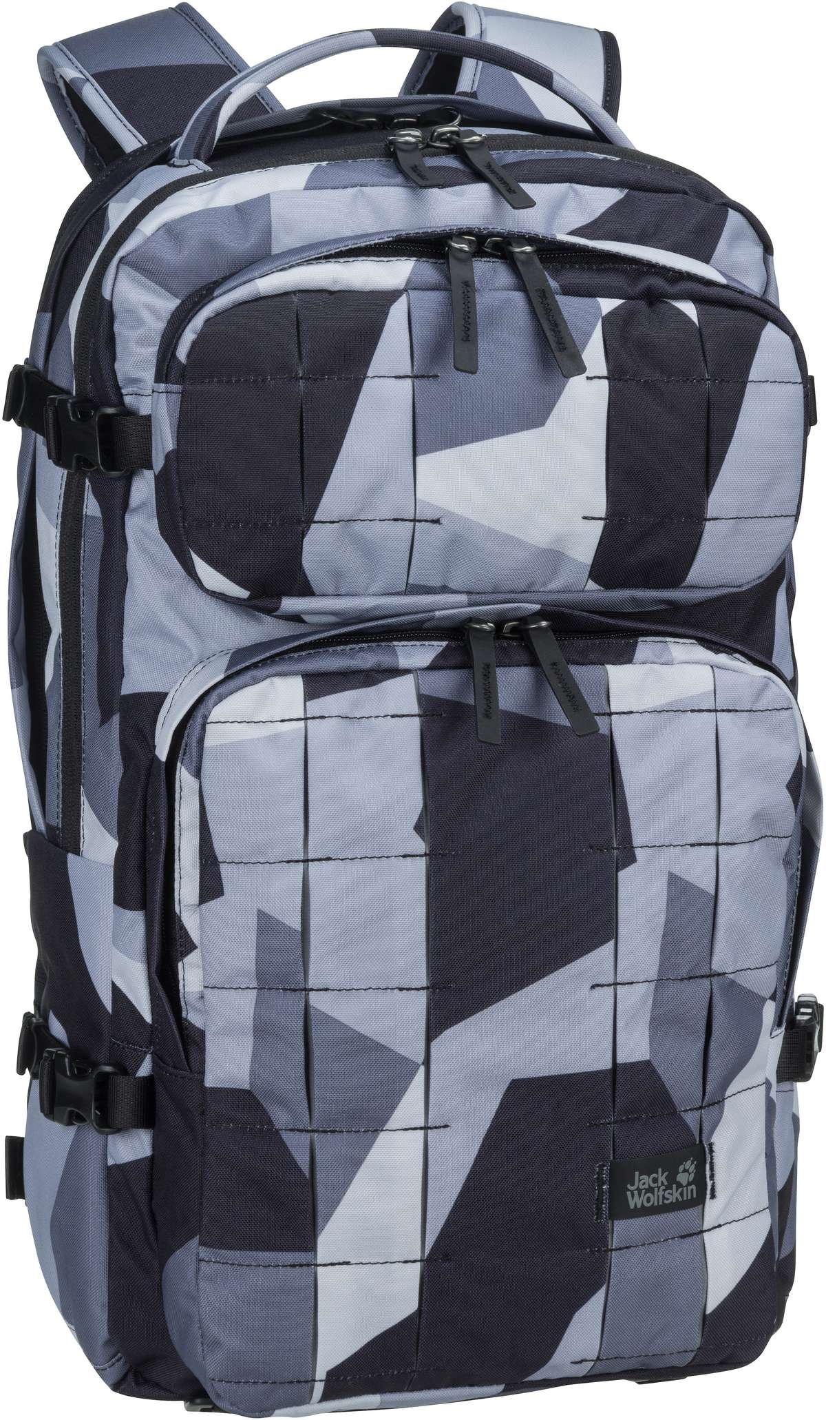 Laptoprucksack TRT 22 Pack Grey Geo Block (22 Liter)