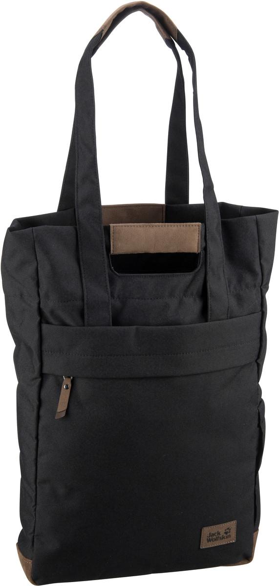 Shopper für Frauen - Jack Wolfskin Shopper Piccadilly Black (15 Liter)  - Onlineshop Taschenkaufhaus