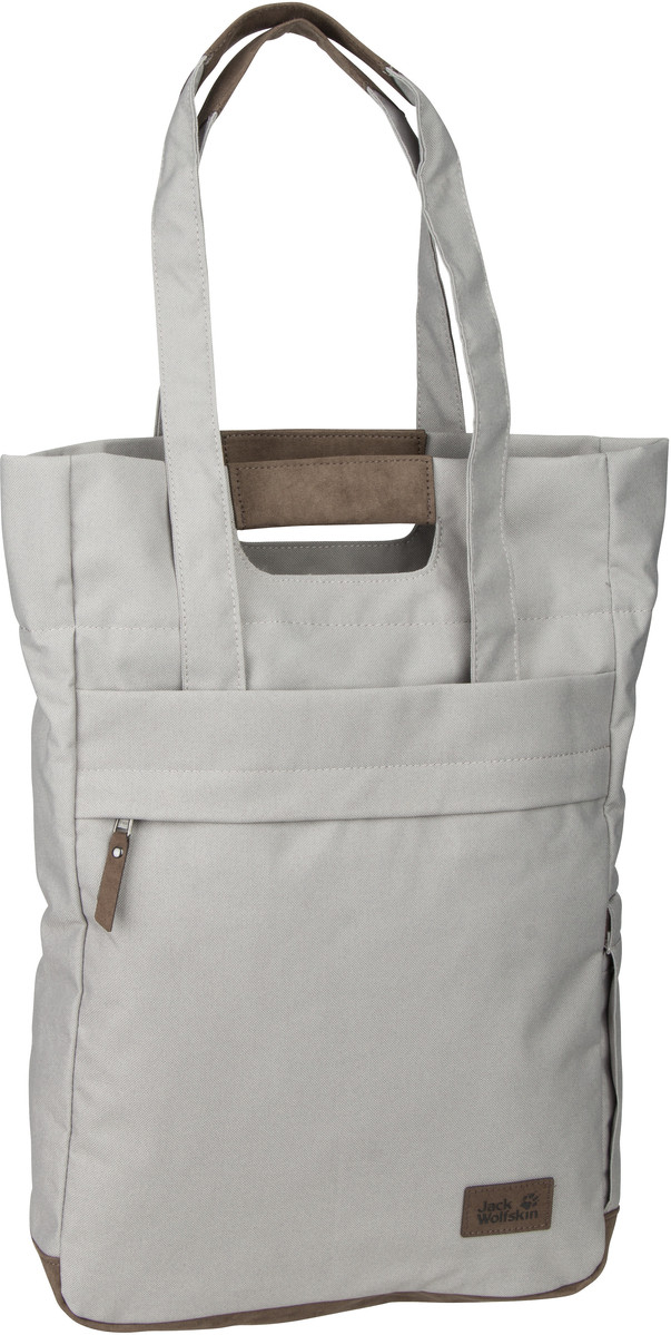 Shopper für Frauen - Jack Wolfskin Shopper Piccadilly Clay Grey (15 Liter)  - Onlineshop Taschenkaufhaus