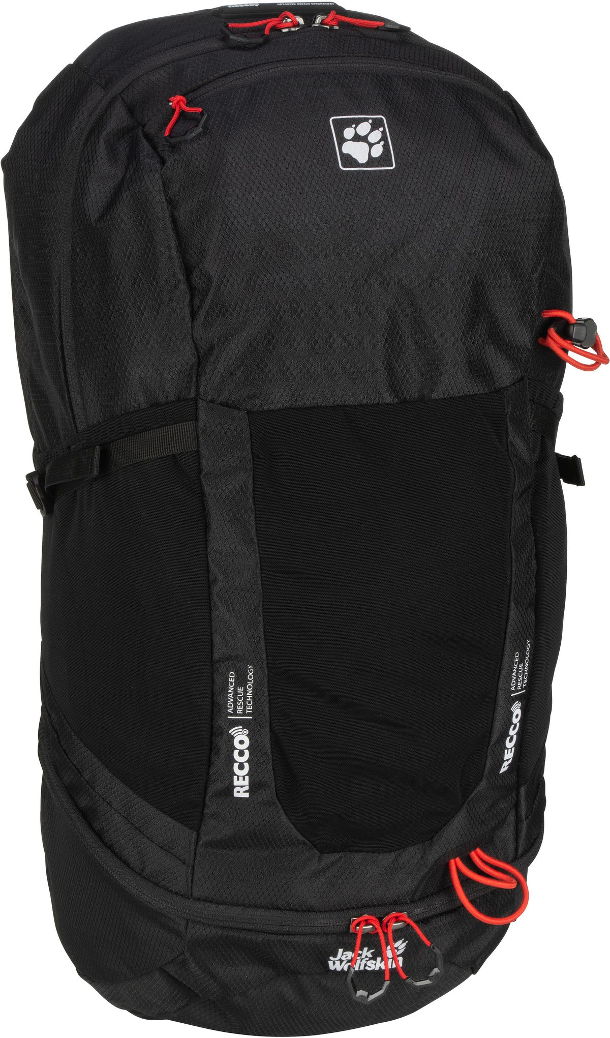 Wanderrucksack Kingston 30 Pack Recco Black (30 Liter)