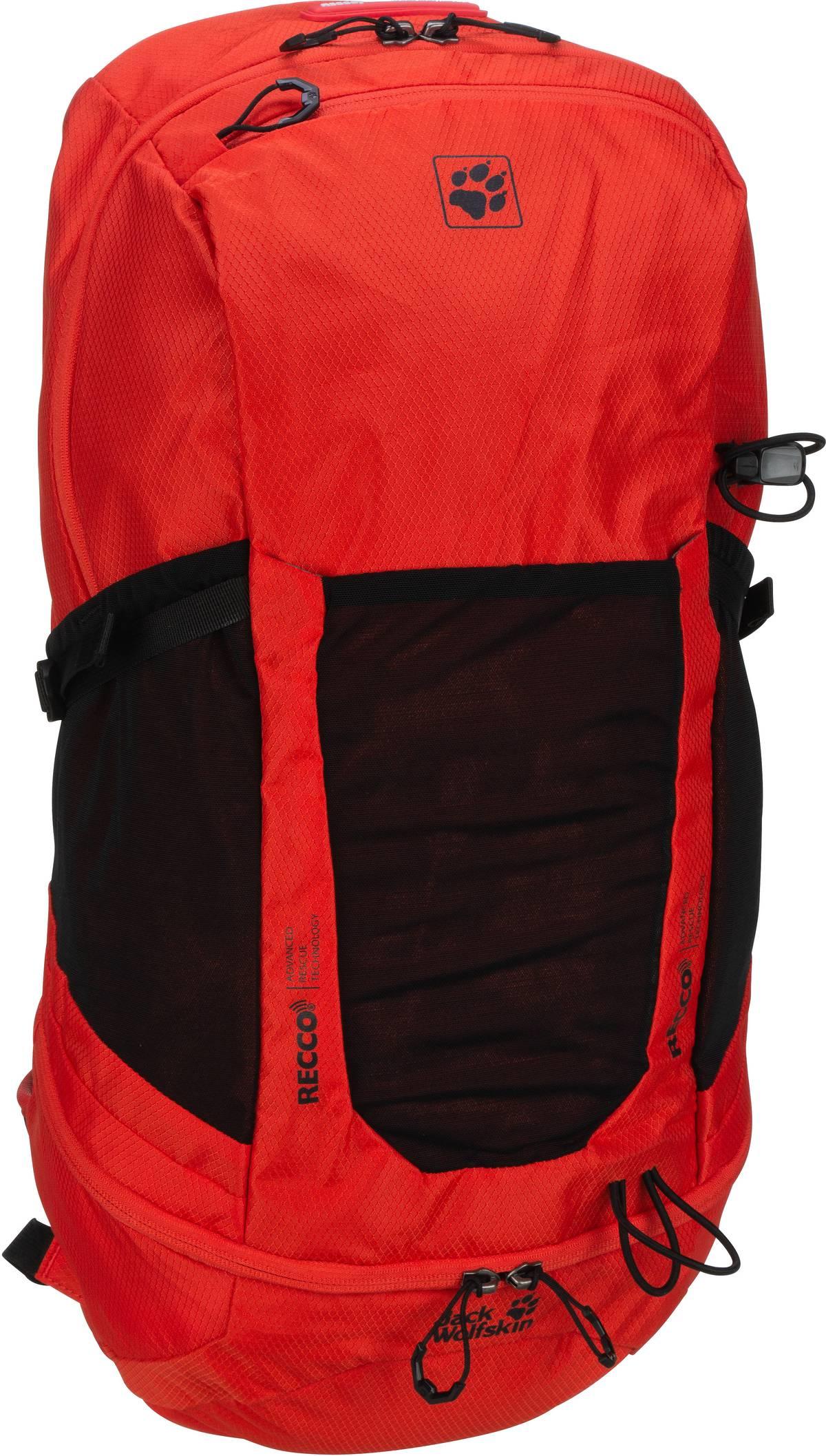 Wanderrucksack Kingston 30 Pack Recco Lava Red (30 Liter)