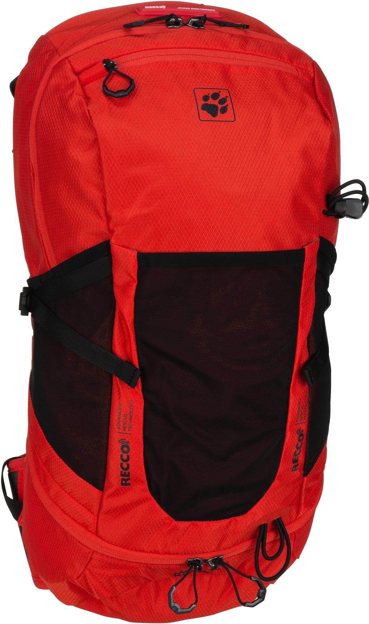 Wanderrucksack Kingston 22 Pack Recco Lava Red (22 Liter)