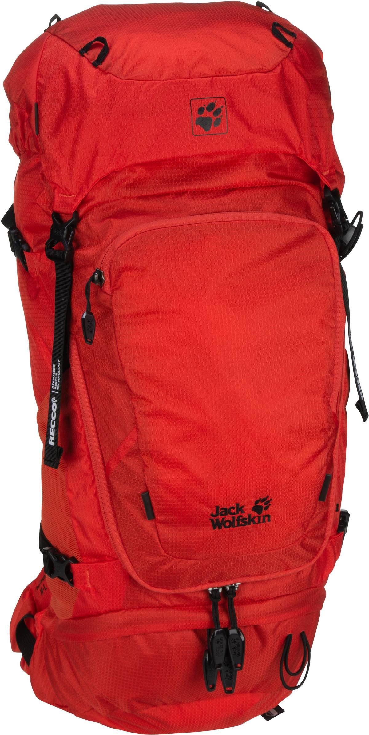Wanderrucksack Orbit 28 Pack Recco M-L Lava Red (28 Liter)