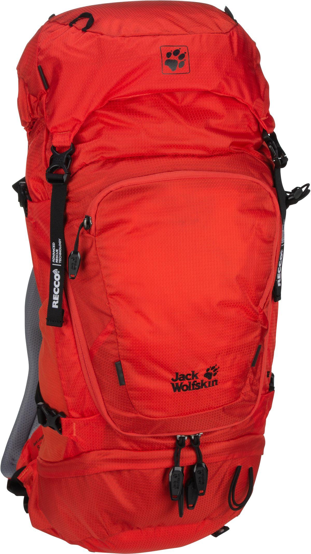 Wanderrucksack Orbit 26 Pack Recco S-M Lava Red (26 Liter)