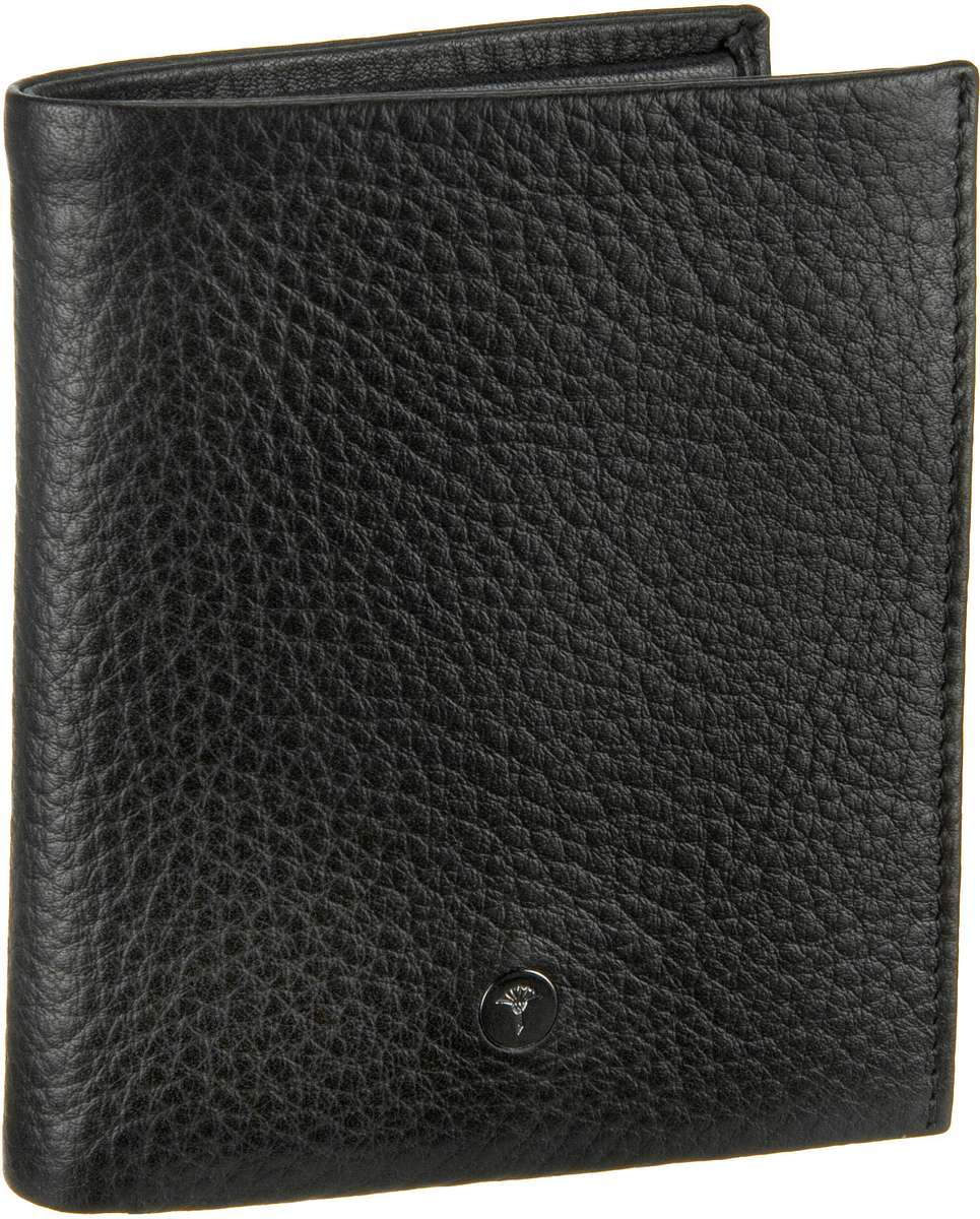 Joop Daphnis Cross Grain Wallet Black - Geldbörse