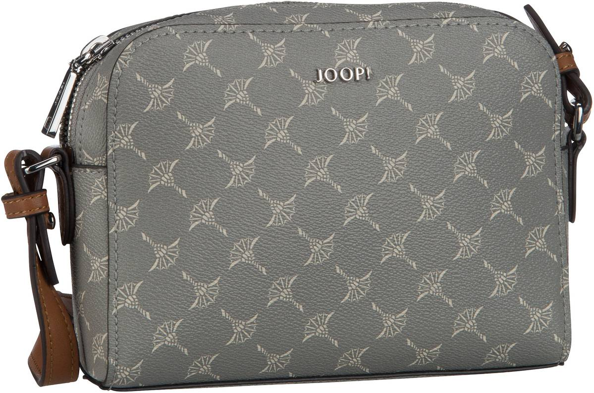 Cloe Cortina Shoulder Bag Small Light Grey