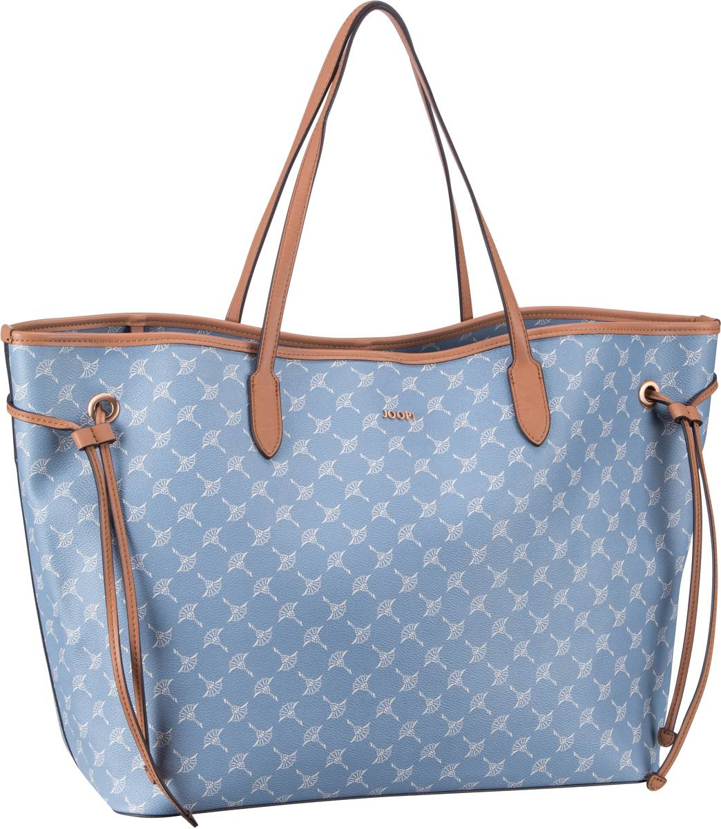 Handtasche Lara Cortina Shopper Large Light Blue