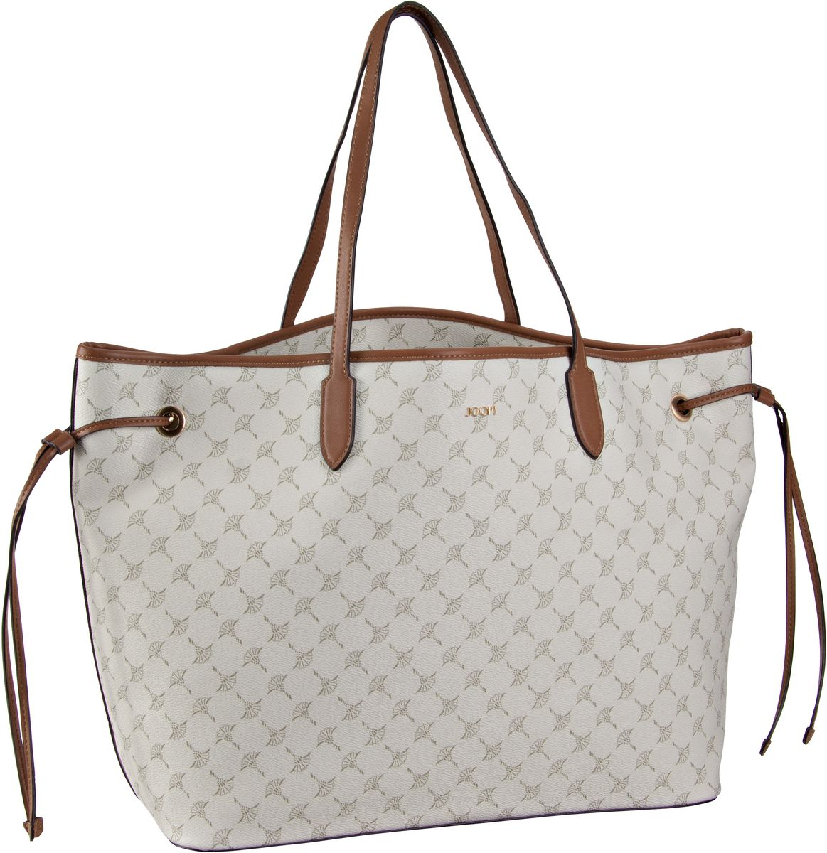Handtasche Lara Cortina Shopper Large Offwhite